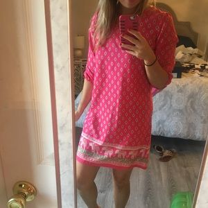 Dresses & Skirts - Pink elephant dress